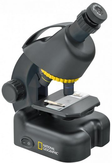 NATIONAL GEOGRAPHIC Mikroskop »40-640x Mikroskop inkl. Smartphone Adapter«