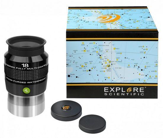 EXPLORE SCIENTIFIC Okular »82° Ar 18mm (2)«