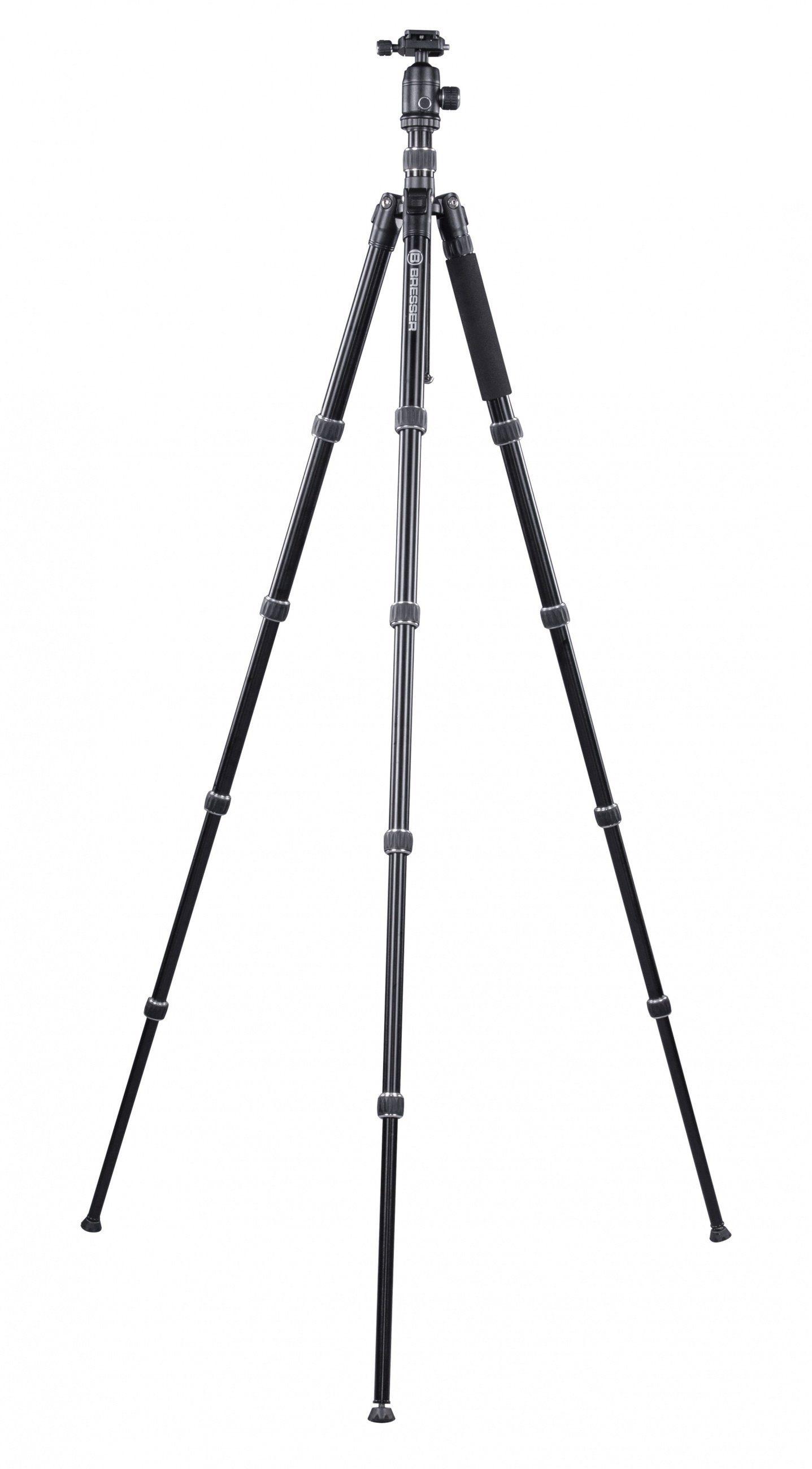 Bresser Fotostativ »BR-7 Dreibeinstativ bis 7KG Alu/schwarz«