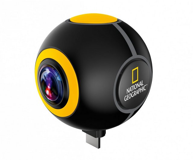 Action, Outdoorkameras - NATIONAL GEOGRAPHIC Actioncam »HD 1024P 720° Android Action Camera Spy«  - Onlineshop OTTO
