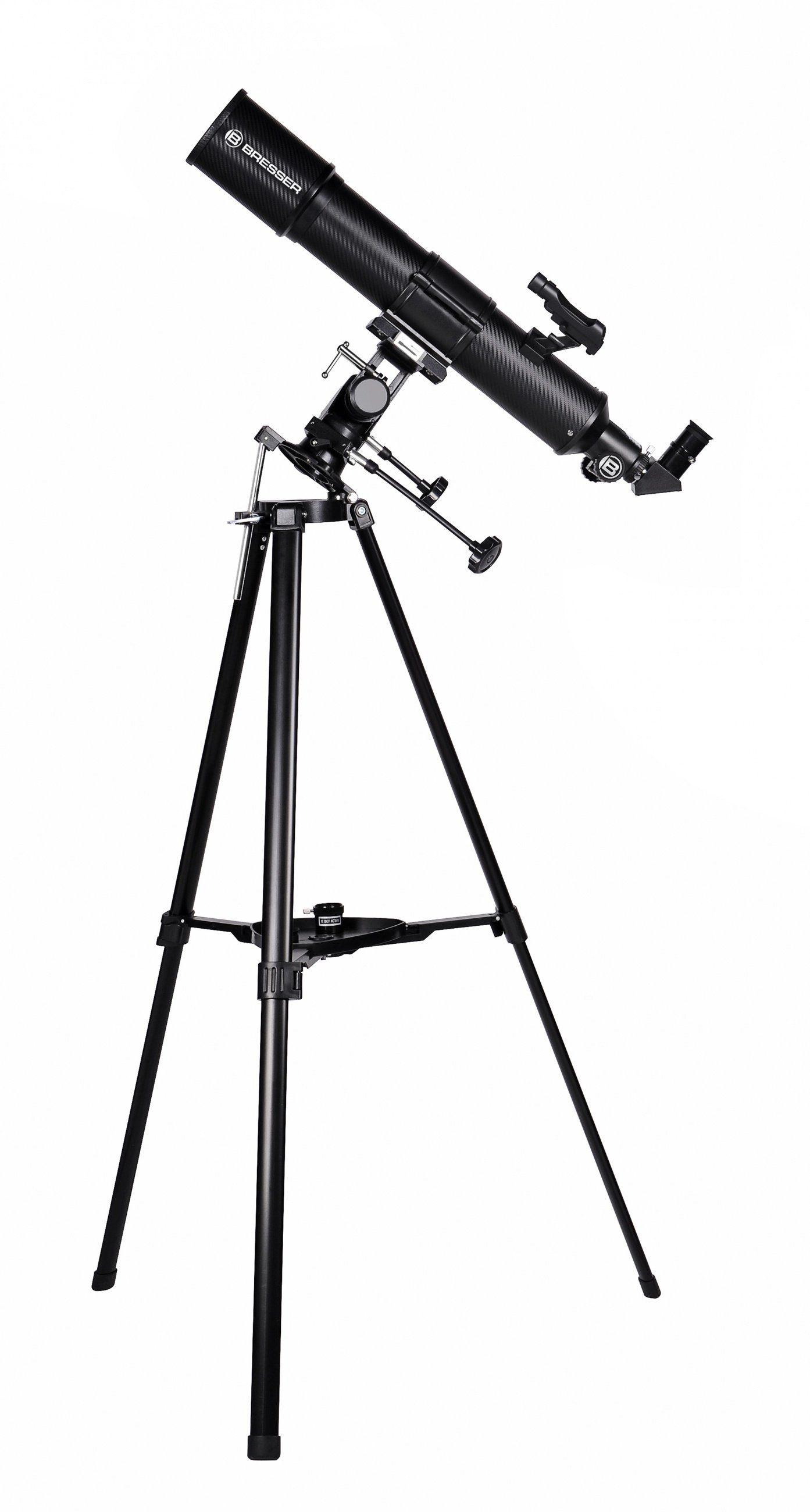 Bresser Teleskop »Taurus 90/500 NG Linsenteleskop mit Handy Adapter«