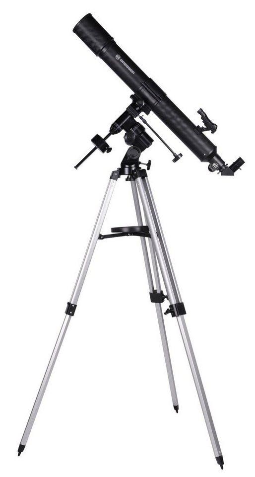 bresser teleskop quasar eq linsenteleskop 80 900 mit. Black Bedroom Furniture Sets. Home Design Ideas