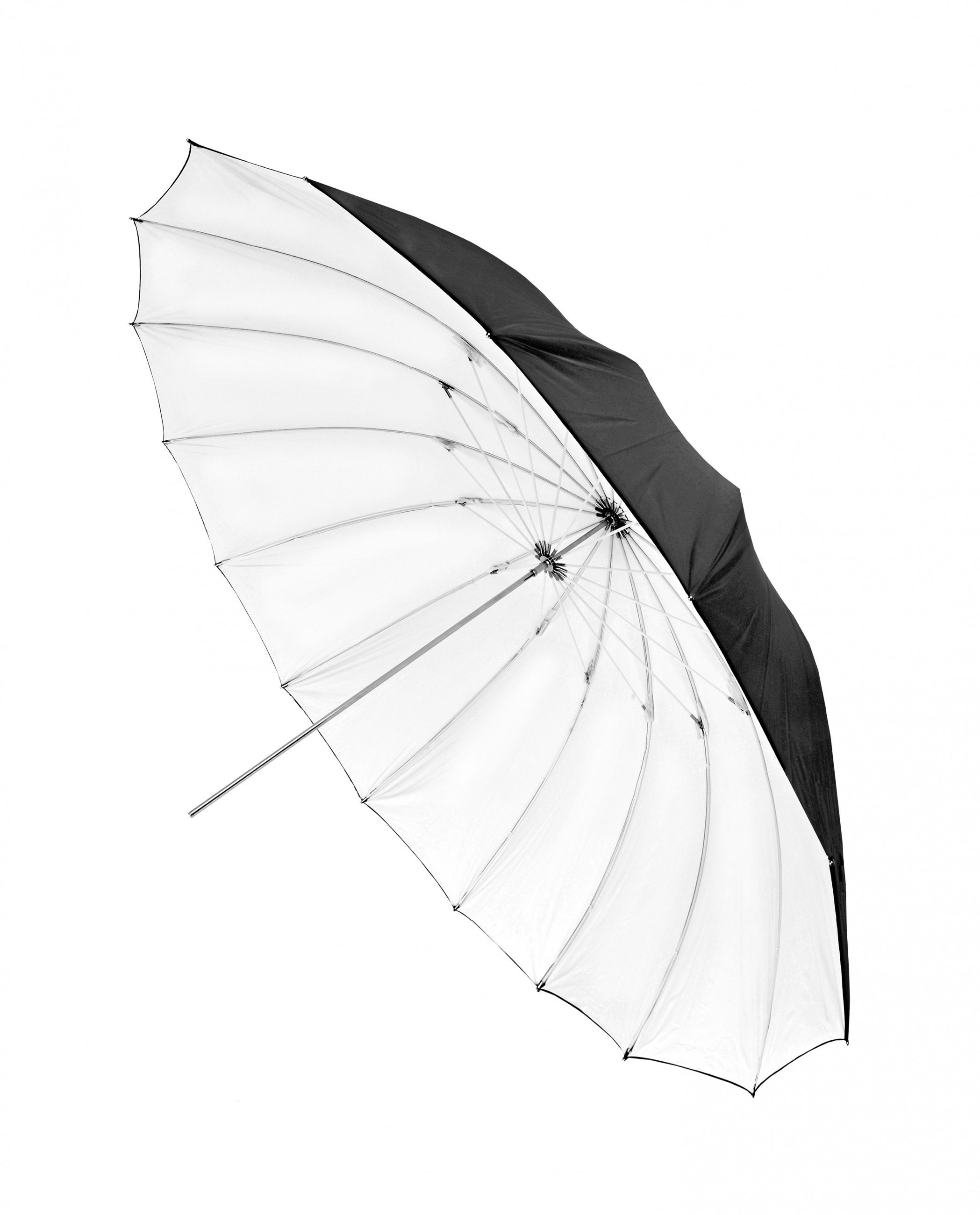 Bresser Fotostudio »SM-14 Jumbo Reflexschirm weiß/schwarz 150 cm«