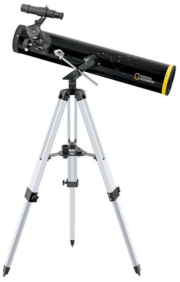 national geographic teleskop 76 700 reflektor teleskop az. Black Bedroom Furniture Sets. Home Design Ideas