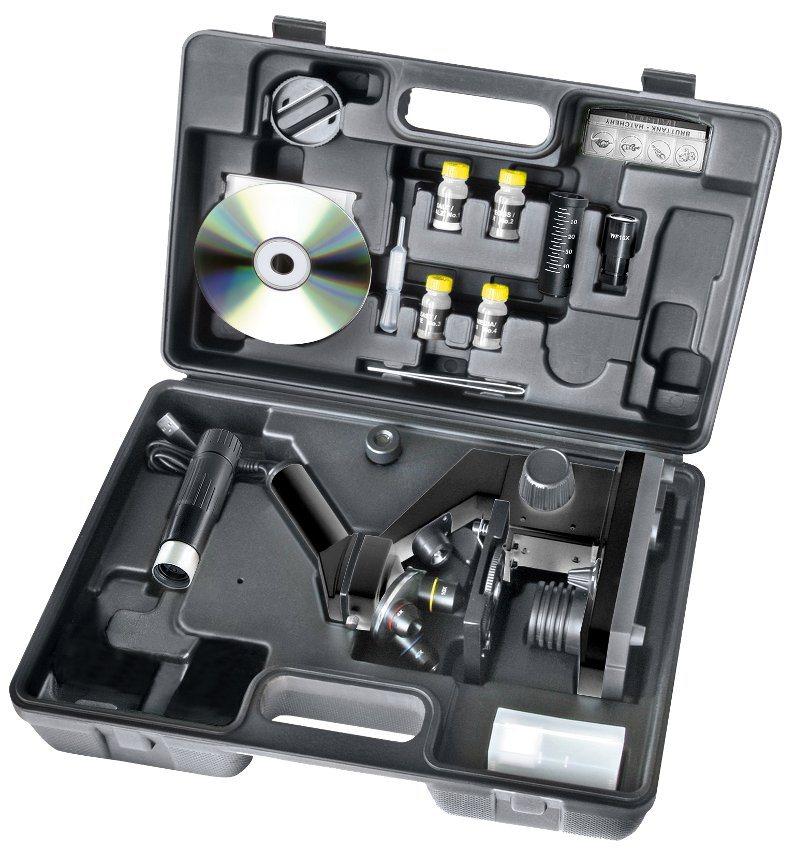 National Geographic Mikroskop  40x-1024x Mikroskop (inkl. Koffer und USB Okular)  online kaufen