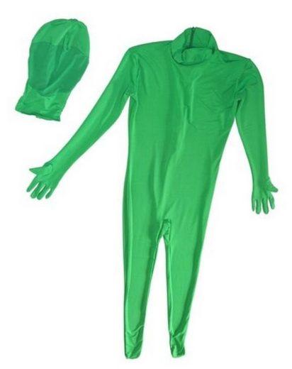 BRESSER Fotostudio »Zweiteiliger Chromakey grüner Anzug Größe: XL«