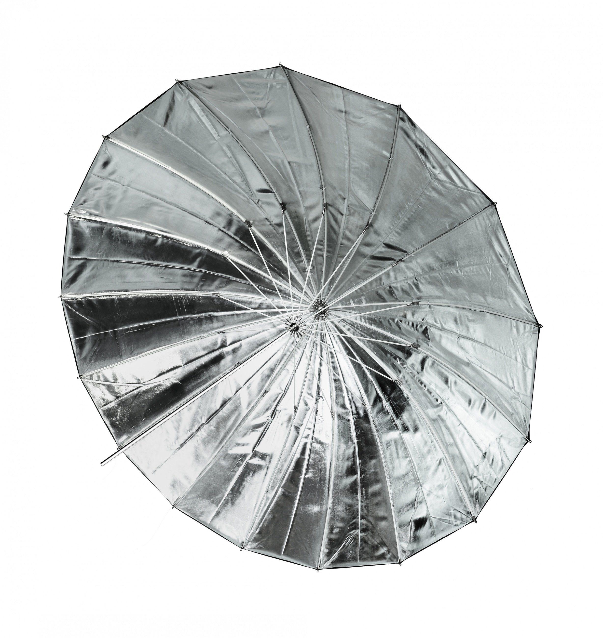 Bresser Fotostudio »SM-09 Jumbo Reflexschirm silber/schwarz 162 cm«