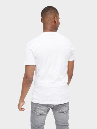 Tom Tailor Denim T-Shirt T-Shirt mit Foto-Print vorne