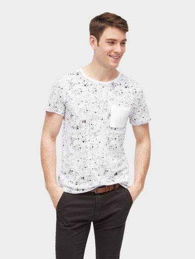 Tom Tailor Denim T-Shirt mit Allover-Print