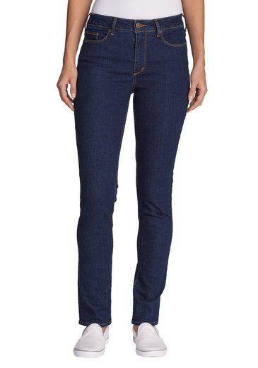 Eddie Bauer Stayshape Jeans - Slim Straight Leg - High Rise - Slightly...