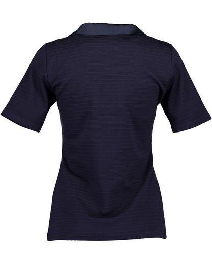 Blue Seven Poloshirt mit gestrickten Streifen