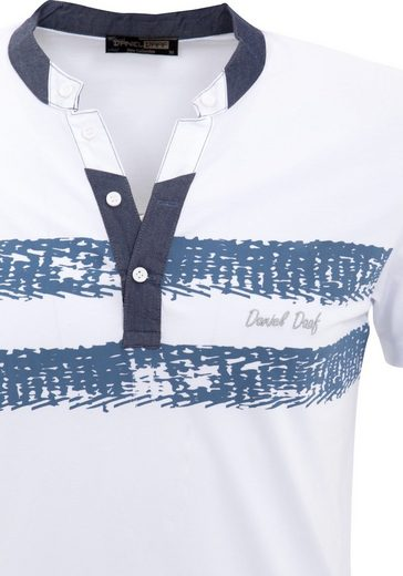 Daniel Daaf T-Shirt, mit 2-farbigem Front Druck