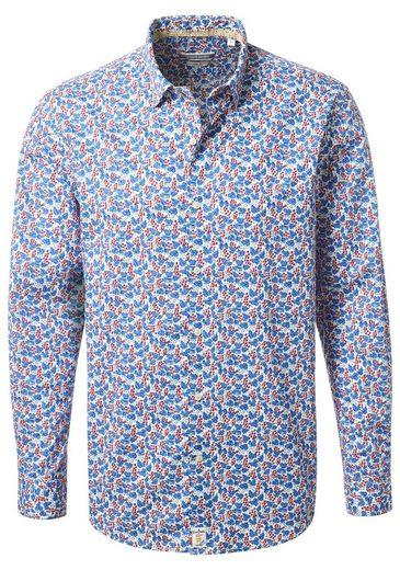 PIERRE CARDIN Hemd mit Flower-Print - Slim Fit