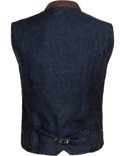 Kruger Buam Linen Vest Romeo