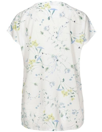 Fry Day Shirtbluse, mit verlängerter Rückenpartie