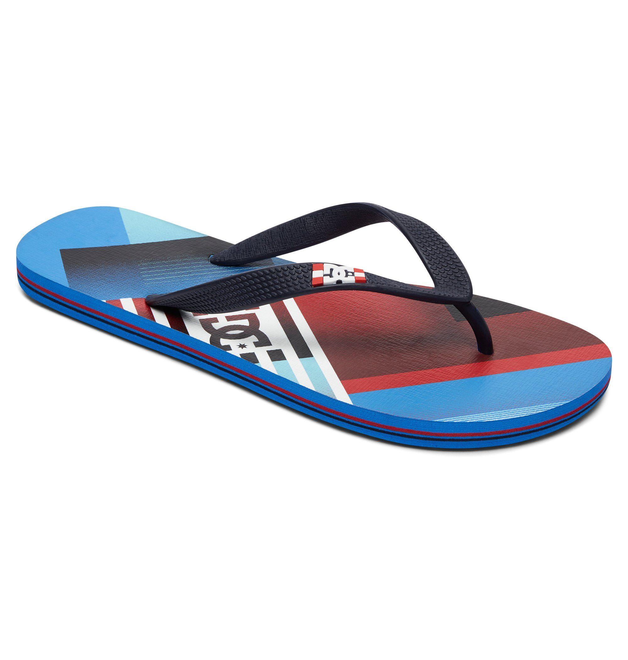 DC Shoes Sandalen Spray Graffik online kaufen  Blue#ft5_slash#red