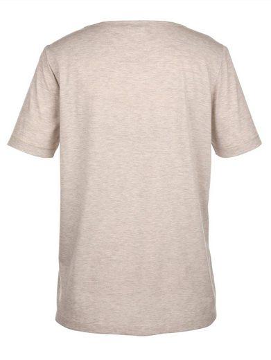 MIAMODA Shirt mit Tigermotiv aus Dekonieten