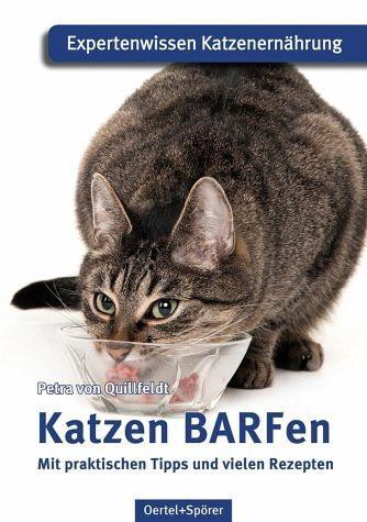 Broschiertes Buch »Katzen BARFen«