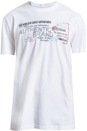 Finn Flare T-Shirt mit Frontprint