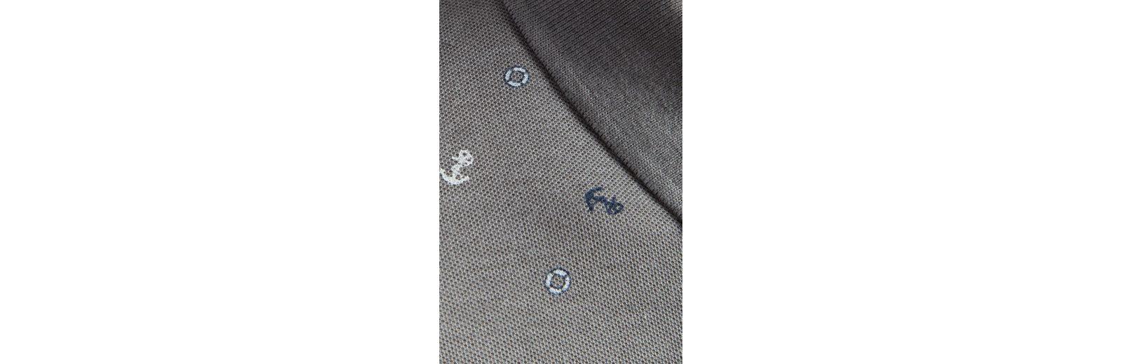 Spielraum Versorgung Finn Flare Poloshirt mit Alloverprint Verkauf Günstig Online Bester Günstiger Preis 2b3l0