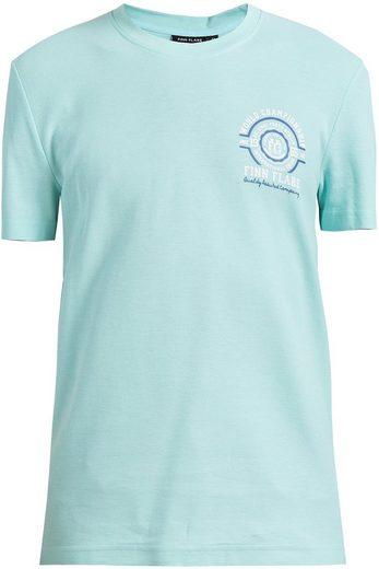 Finn Flare T-Shirt mit sportlichem Frontdruck