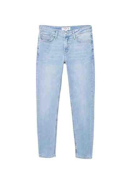 MANGO Skinny Jeans Olivia aus Bio-Baumwolle