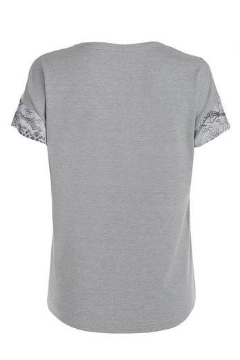 Tuzzi Top-tshirt Chemise Chemisier Décontractée Dans Un Drôle De Printmix