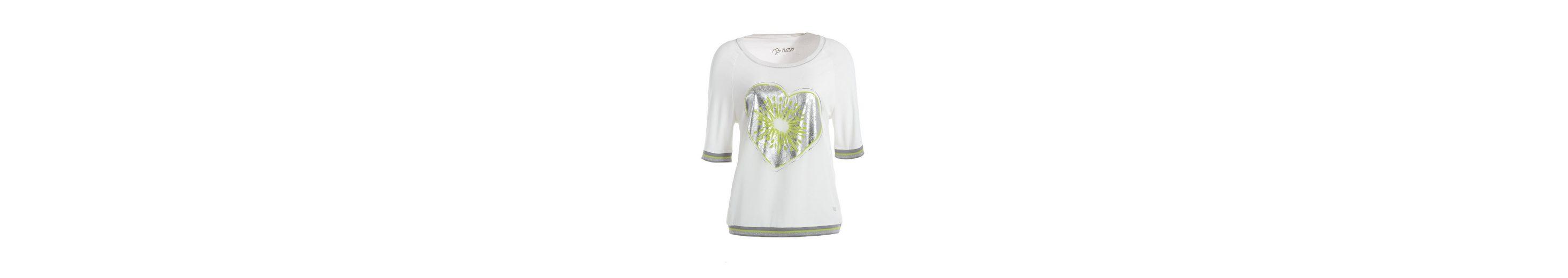 TUZZI Top-TShirt Blousonshirt mit 'Kiwi-Heart-Print' Freies Verschiffen Niedrig Versandkosten W6p1npv1