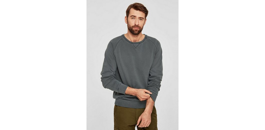 s.Oliver RED LABEL L盲ssiger Baumwoll-Sweater