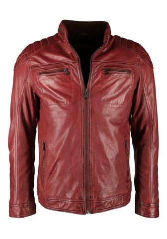 Куртка кожаная с Polsterungen »4...