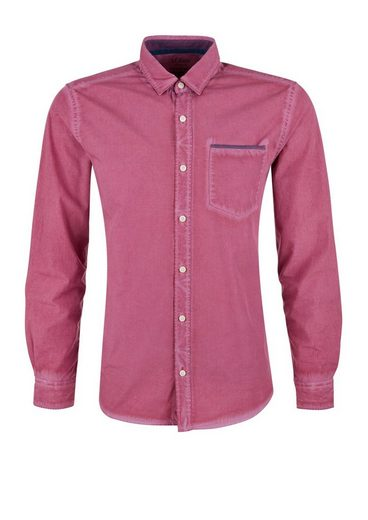 S.oliver Red Label Regular: Hemd In Garment Dye