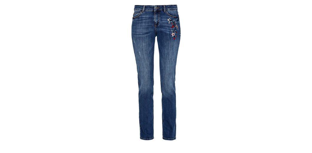 s.Oliver RED LABEL Smart Straight: Emboidery-Jeans Exklusiv Mit Mastercard Große Auswahl An Günstigen Online Spielraum Zuverlässig AdHflF