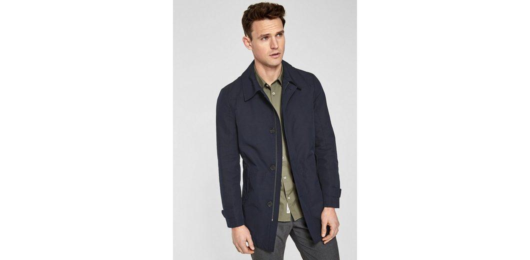 s.Oliver BLACK LABEL Elegante Jacke aus Baumwollmix Billig 100% Garantiert Erhalten Authentisch Billig Verkauf Vorbestellung nbAb0ddDPZ