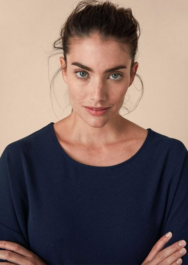 TRIANGLE Edles Kleid im Double-Face-Look
