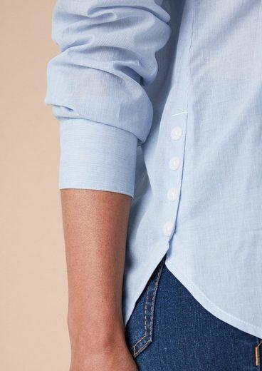 TRIANGLE Business-Bluse mit Nadelstreifen