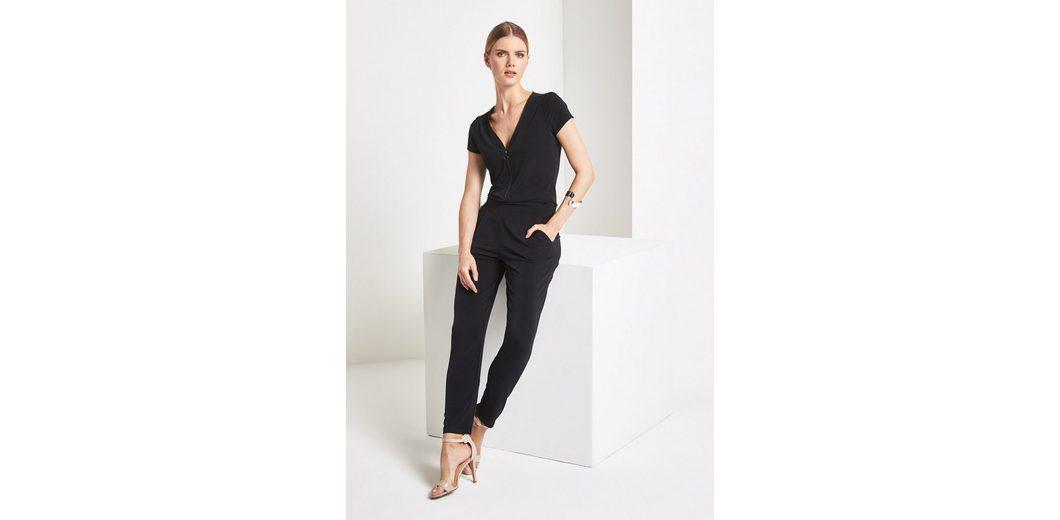 Rabatt Erschwinglich Modisch Günstiger Preis COMMA Lässiger Jersey-Jumpsuit mit Zipper Billig Verkaufen Gefälschte Für Schön Zu Verkaufen Vorbestellung Online XaF4T1Rrqw