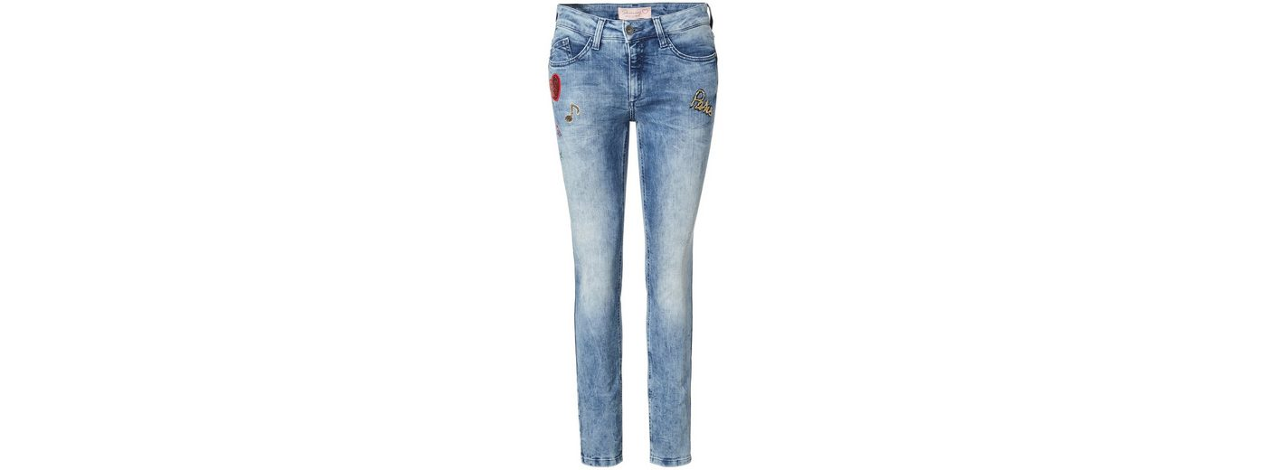 PIERRE CARDIN Used Jeans mit Patches - Skinny Fit My Favourite Steckdose Footaction Limit Rabatt Bester Ort Zu Kaufen inncsk6iY