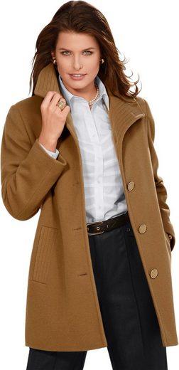 Classic Woll-Jacke mit elegantem Spatenkragen