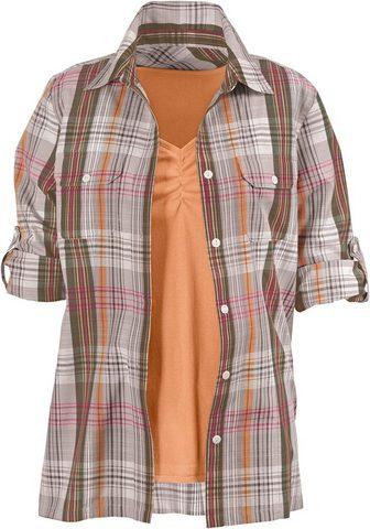 CASUAL LOOKS Palaidinė + Marškinėliai be rankovių i...