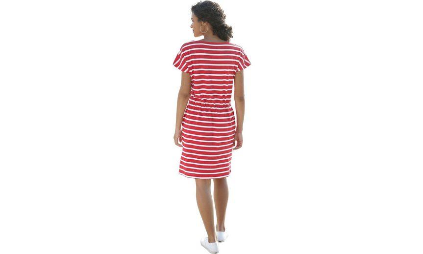 Collection L. Jersey-Kleid in Streifen-Optik Freies Verschiffen Am Besten Großhandelspreis Online Freiheit 100% Garantiert Erhalten Authentische Online mKW61