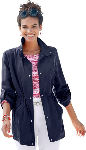 Classic Basics Jacket With Turndown Collar