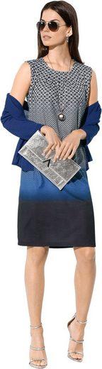 Lady Jersey-Kleid mit legerem Schnitt