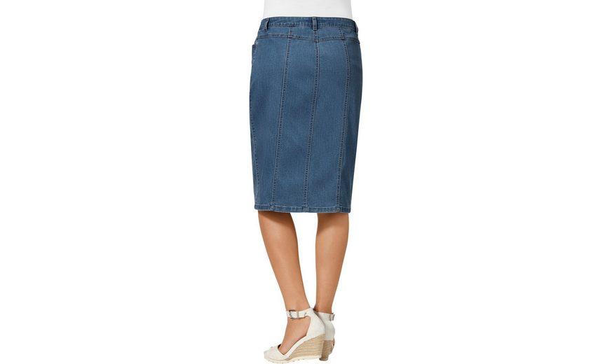 mit Rock L Jeans Jeans Zierknopfleiste L Rock Collection Collection mit xrHCRwErq