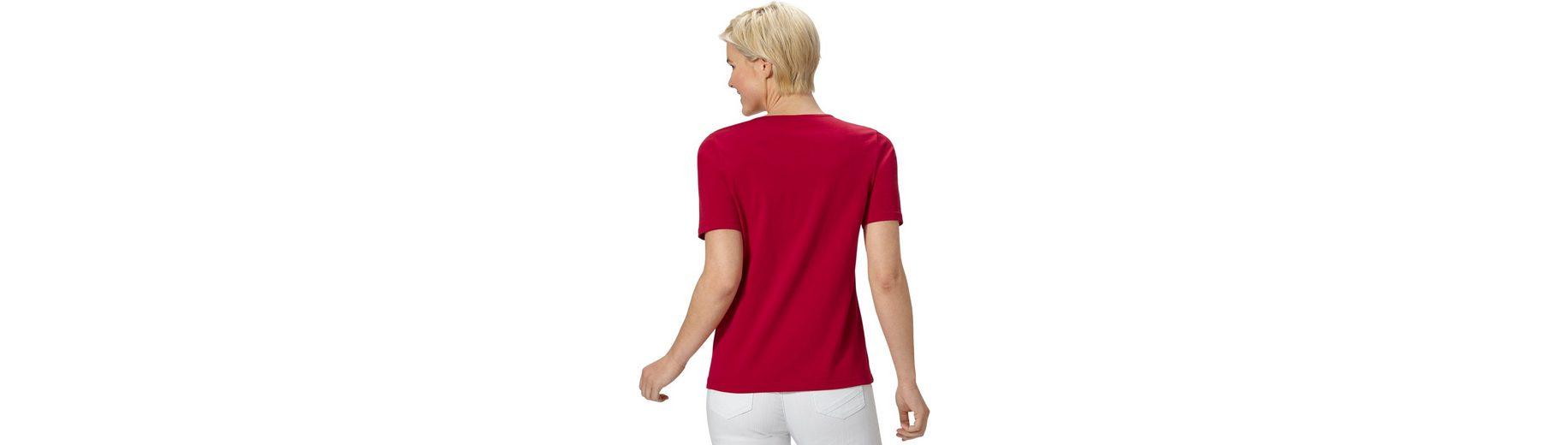 Classic Basics Shirt aus reiner Baumwolle Bestes Geschäft Zu Bekommen Online Sast Online Auslass Neue Ankunft 3OXQuav2g