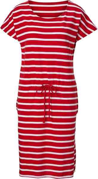Collection L. Jersey-Kleid in Streifen-Optik