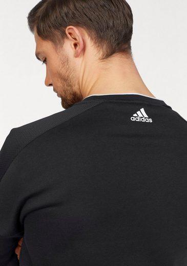 »solid Sweatshirt Fleece« Performance Adidas Sweat vw57x44Eq