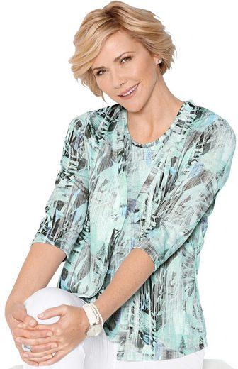 Classic Shirtjacke in leichter Feinstrick-Qualität