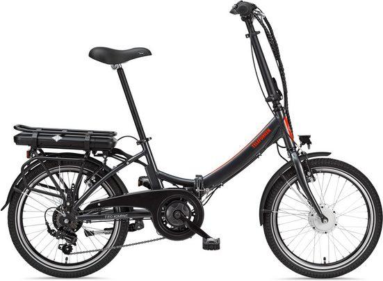 Telefunken E-Bike »Kompakt F810«, 7 Gang Shimano Shimano Tourney Schaltwerk, Kettenschaltung, Frontmotor 250 W