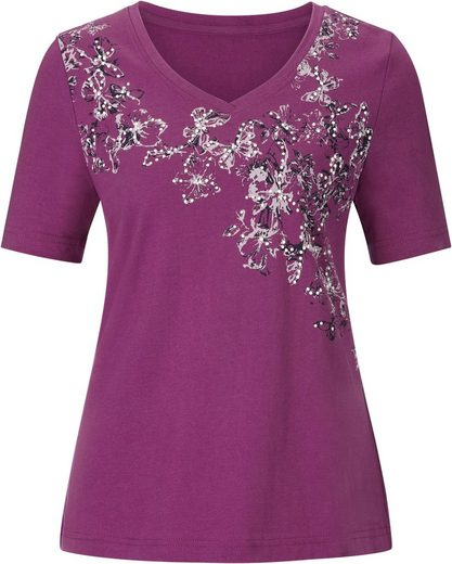 Classic Basics Shirt mit Blütenmuster