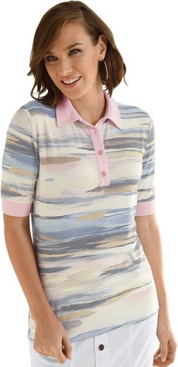 Collection L. Poloshirt im modischen Multicolour-Ringel